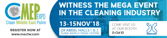 Clean Middle East Pulire (CMEP) 2018